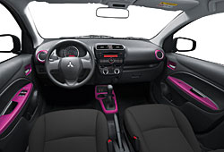 Mitsubishi Space Star Color - Interieur
