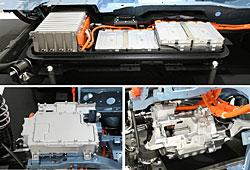 Nissan Leaf Elektroeinheit