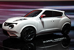 Nissan Juke Nismo Seitenansicht