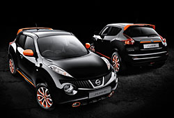 Nissan Juke mit Design-Optionen