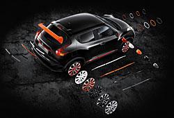 Nissan Juke - erweitertes Individualisierungsprogramm