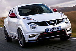 Nissan Juke Nismo Frontansicht