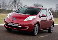 """Nissan Leaf mit neuer """"Nase"""""""