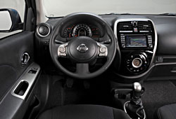 Nissan Micra - Modelljahr 2014 - Cockpit