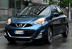 Nissan Micra - Modelljahr 2014 - Frontansicht