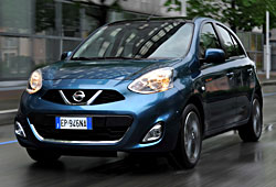 Nissan Micra - Frontansicht