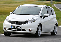 Nissan Note - Frontansicht