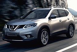 Nissan X-Trail - Front-Seitenansicht