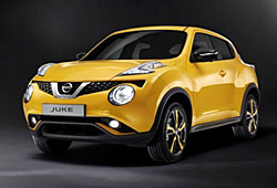 Nissan Juke - Frontansicht