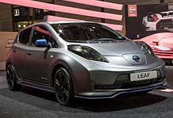 Nissan Leaf mit Nismo Aerodynamik-Kit