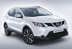 Nissan Qashqai - seitliche Frontansicht