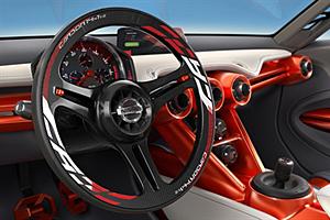Nissan Gripz Concept - Cockpit