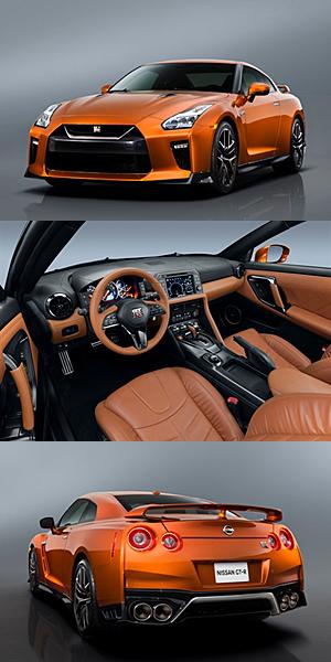 Nissan GT-R - Modelljahr 2017