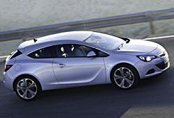 Opel Astra GTC - Seitenansicht