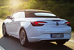 Opel Cascada 1.6 SIDI - Heckansicht