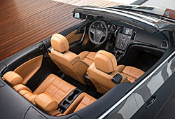 Opel Cascada: Blick in den Innenraum