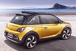 Opel Adam Rocks - Heckansicht