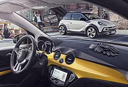 Opel Adam Rocks - Einblick in Innenraum