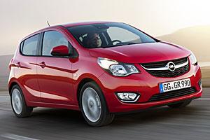 Opel Karl auch als Ecoflex-Version