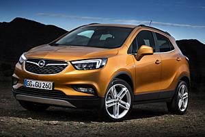 Opel Mokka X - Außenansicht