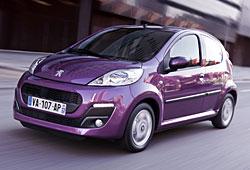 Peugeot 107 - Frontansicht