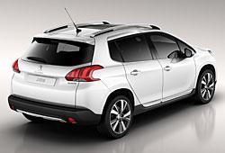 Peugeot 2008 Heckansicht