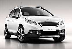 Peugeot 2008 seitliche Frontansicht