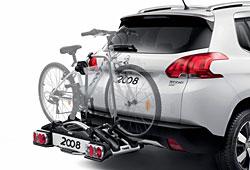Fahrradträger fürs Heck des Peugeot 2008