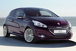 Peugeot 208 XY - Frontansicht