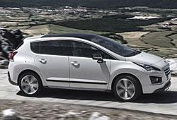 Peugeot 3008 Hybrid4 - Seitenansicht