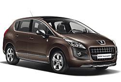 Peugeot 3008 Napapijri seitliche Fronansicht