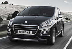 Peugeot 3008  - Frontansicht