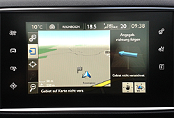 Peugeot 308 - Touchscreen