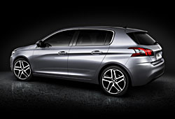 Peugeot 308 - Seitenansicht hinten