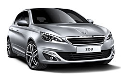 Peugeot 308 - Frontansicht