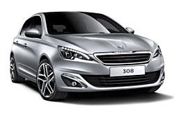 Peugeot 308 - Außenansicht