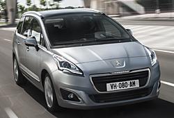 Peugeot 5008 - Modelljahr 2014 mit neuer Frontpartie