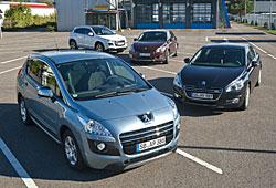 Peugeot - Modellübersicht