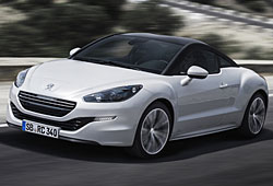 Peugeot RCZ seitliche Vorderansicht