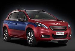 Peugeot 2008 Castagna - Außenansicht