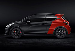 Peugeot 208 GTi 30th in Coupe Franche-Lackierung