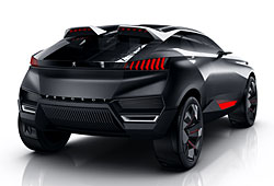 Peugeot Quartz - Heckansicht