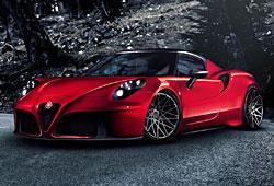 Alfa Romeo 4C mit Pogeo-Tuning