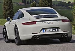 Sondermodell 50 Jahre 911 - Porsche 911 Carrera S - Heckansicht
