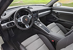 Porsche 911 Carrera S - Sondermodell zum 50. Jubiläum - Innenraum