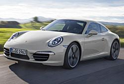 Porsche 911 Carrera S - Sondermodell zum 50. Jubiläum - Frontansicht