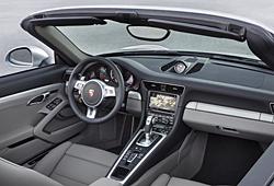 Porsche 911 Turbo Cabriolet - Innenraum
