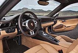 Porsche 911 Turbo S - Innenraum