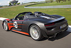 Porsche 918 Spyder - Heckansicht