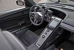 Porsche 918 Spyder - Cockpit